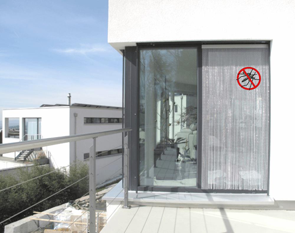 rideaux de porte aluminium efficace contre les insectes. Black Bedroom Furniture Sets. Home Design Ideas